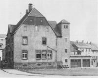 Erstes_FeuerwehrgerÀtehaus_in_Oberbexbach_1950
